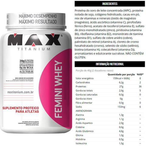 Imagem de Combo Feminino Ganho De Massa Muscular - Max Titanium