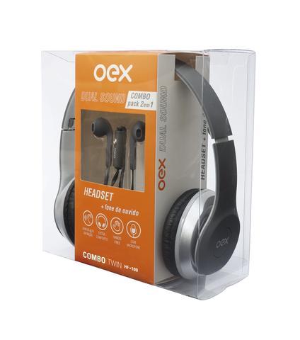 Fone de Ouvido Twin Oex Hf100