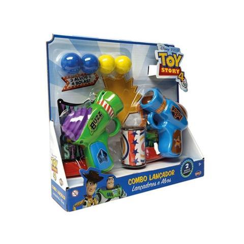 Imagem de Combo Lançador de Bolas com Alvos Toy Story 4 - Toyng