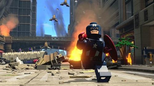 Imagem de Combo Lego Marvel Vingadores + Lego Jurassic World - PS3