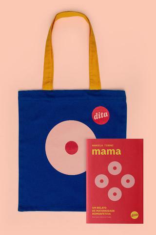 Imagem de Combo  livro Mama + ecobag