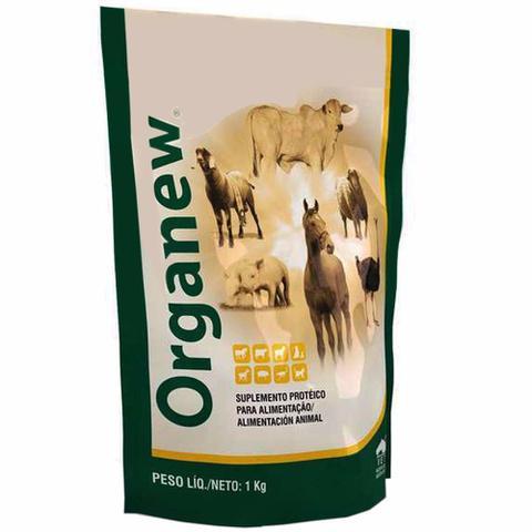 Imagem de Combo Organew 1 Kg Probiótico + Aminomix Gold Pó 500g Vetnil