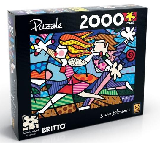 Imagem de Combo Puzzle Romero Britto 1500 e 2000 Peças - Grow