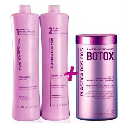 Imagem de Comboi Kit Plastica Dos Fios + Botox Control 1 Kg