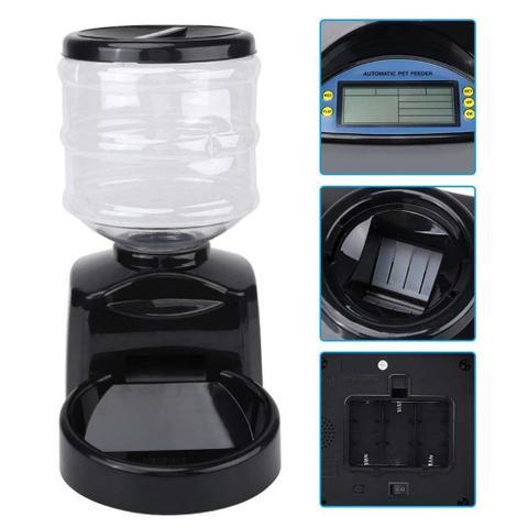 Imagem de Comedouro Automático Eletrônico Programável Alimentador GT652 - Lorben