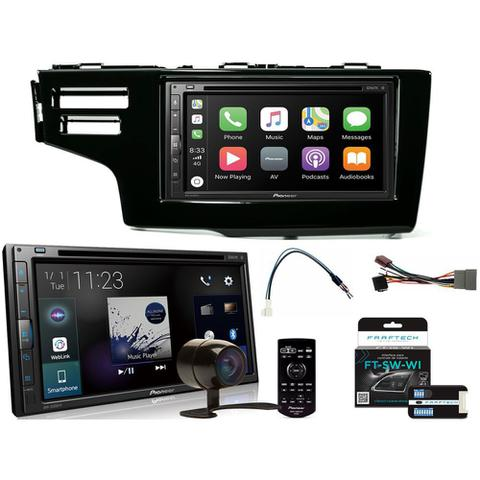 Imagem de COMP Kit Central Multimídia Pioneer Honda Fit 2015 a 2020 AVH-Z5280TV Pioneer 6.8 USB DVD Espelhamento