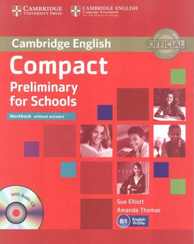 Imagem de Compact preliminary for schools wb without answers with audio cd - Cambridge university