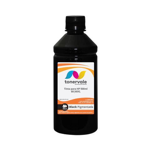 Imagem de Compatível Tinta para Cartucho HP 122 CC641WB 60 Preto Pigmentada - Impressoras HP C4680 C4780 D1660
