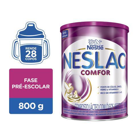 Imagem de Composto Lácteo Nestlé Neslac Comfor Lata 800g