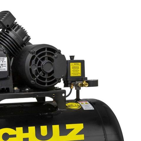 Imagem de Compressor 10 Pés 100 Litros 140 Libras 2 Horse Power CSV-10/100 PRO SCHULZ