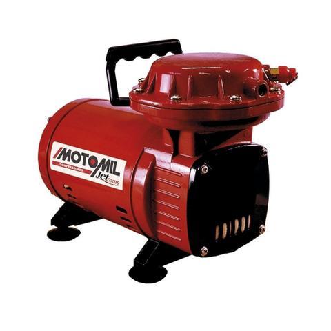 Imagem de Compressor Ar Direto Jetmais Com Kit Pintura 110/220v Motomil