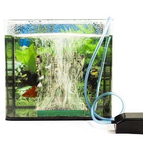 Imagem de Compressor De Ar 1s U2800 1,2w Boyu Jad para aquário pequeno