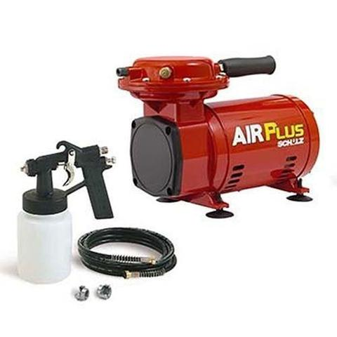 Imagem de Compressor de Ar 2,3 com Kit Pintura Air plus Hobby Schulz