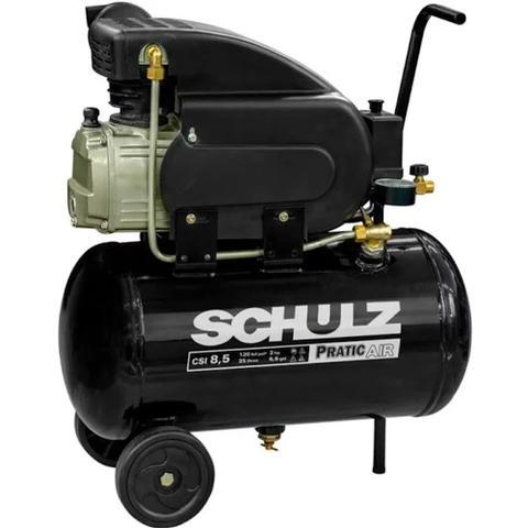 Imagem de Compressor De Ar 8,5 Pés 25L Pratic Air CSI 8,5/25 Schulz