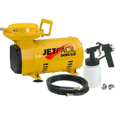 Imagem de Compressor de Ar Direto JET FÁCIL com Kit SCHULZ