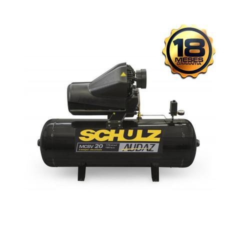 Imagem de Compressor De Ar Estacionario Pistão Audaz Trif - Chave de partida - 220V MCSV20 AP/150  - Schulz