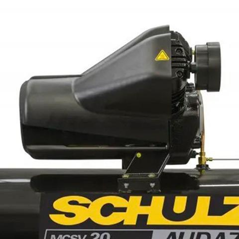 Imagem de Compressor De Ar Pistão Audaz Trif 220V MCSV20 AP/200 c/chave de partida - Schulz