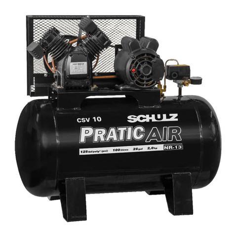 Imagem de Compressor Pratic Air CSV 10/100