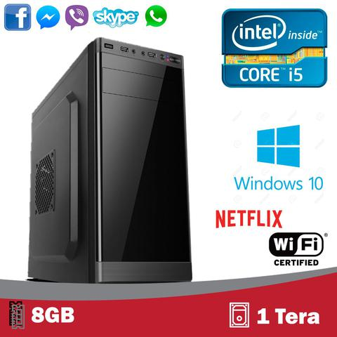 Imagem de Computador 5tech Intel Core I5 3.10ghz 8gb Hd 1 Tera Hdmi Fullhd Windows 10 Profissional + WI-FI