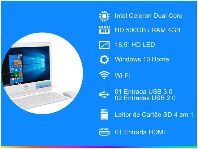 Imagem de Computador All in One Positivo Union UD3550