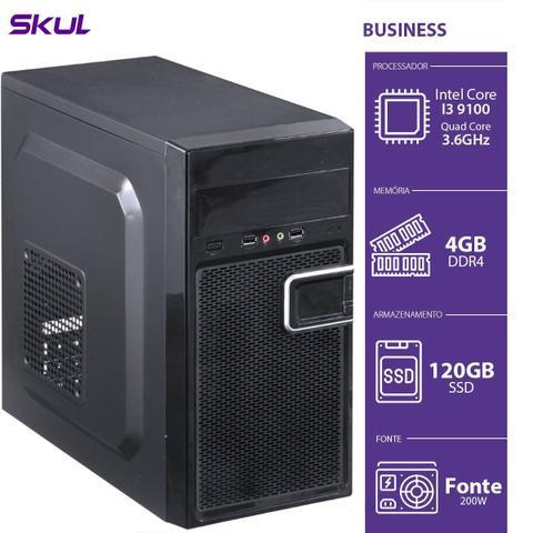 Desktop Skul Business B300 B91001204 I3-9100 3.60ghz 4gb 120gb Intel Hd Graphics