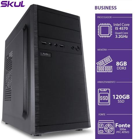 Desktop Skul Business B500 B45701208 I5-3570 3.20ghz 8gb 120gb Intel Hd Graphics Linux
