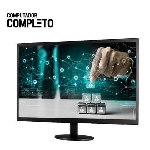 Imagem de Computador Completo Intel Core 2 Duo 8GB HD 500GB Monitor