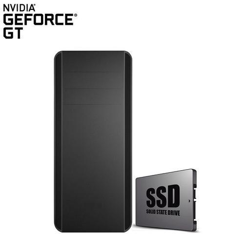 Imagem de Computador CorpC Graphics Intel Core i5 8GB (Placa de vídeo GeForce GT) SSD 120GB HD 2TB Monitor LED 19.5