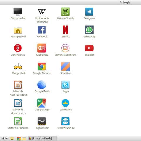 Imagem de Computador Desktop Completo com Monitor 19.5