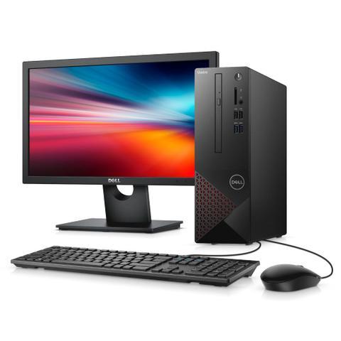 Desktop Dell Vostro Vst-3681-m10m I3-10100 3.60ghz 4gb 1tb Intel Hd Graphics Windows 10 Home Com Monitor