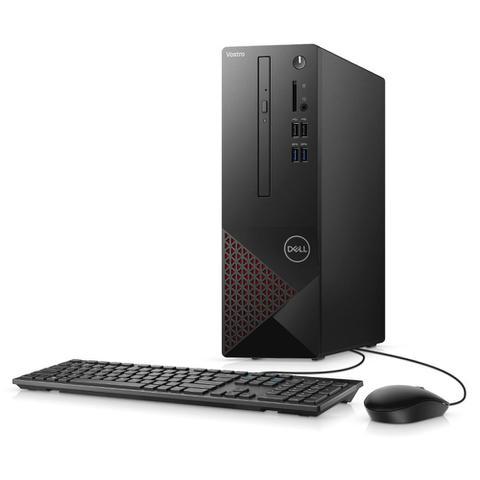 Desktop Dell Vostro Vst-3681-ms11p I3-10100 3.60ghz 4gb 256gb Intel Hd Graphics Windows 10 Pro Sem Monitor