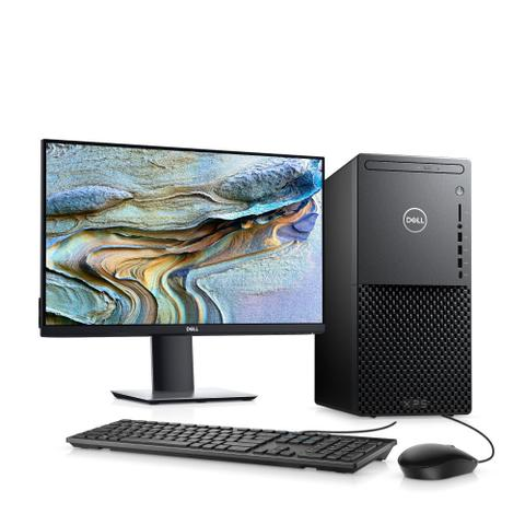 Desktop Dell Xps Xps-8940-a20m I5-10400 2.90ghz 8gb 256gb Geforce Gtx 1650 Windows 10 Home Com Monitor