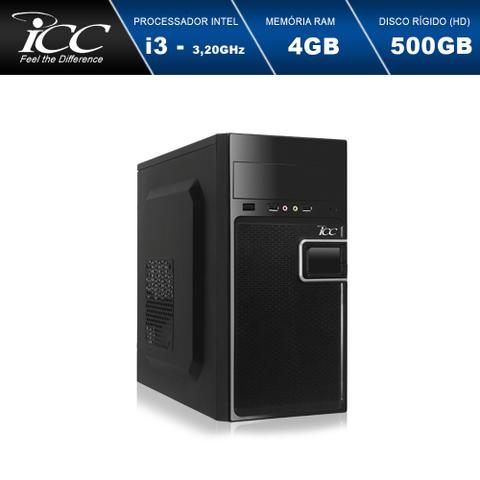 Imagem de Computador Desktop ICC IV2341W Intel Core I3 3.20 ghz 4gb Hd 500GB Windows 10