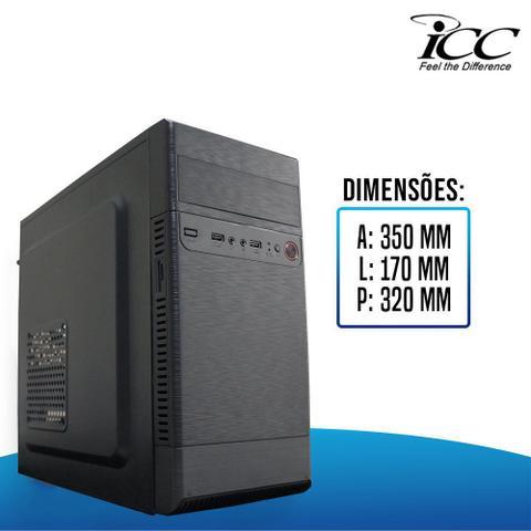 Imagem de Computador Desktop ICC IV2581SM19 Intel Core I5 3.20 ghz 8gb HD 500GB HDMI FULL HD Monitor LED 195