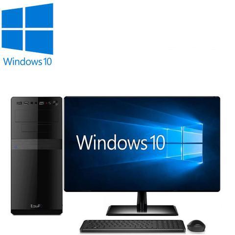 Imagem de Computador Desktop Processador Intel Core i5 4GB SSD 240GB Monitor 19.5