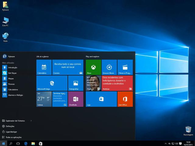 Imagem de Computador Desktop Processador Intel Core i5 8GB SSD 240GB Monitor 19.5