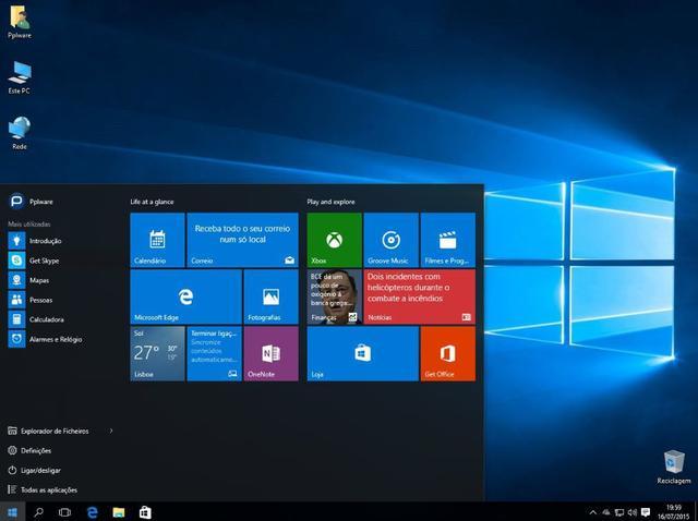 Imagem de Computador Desktop Processador Intel Core i5 8GB SSD 480GB Monitor 19.5