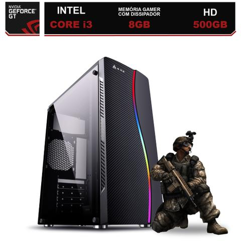 Imagem de Computador Gamer Intel Core i3 8GB HD 500GB (Nvidia Geforce GT) EasyPC Light
