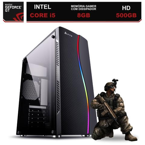 Imagem de Computador Gamer Intel Core i5 8GB HD 500GB (Nvidia Geforce GT) EasyPC Light