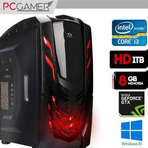 Imagem de Computador Gamer Vyper, Intel Core I3 7100, 8GB Ram, GTX1050, 1TB, Windows 10