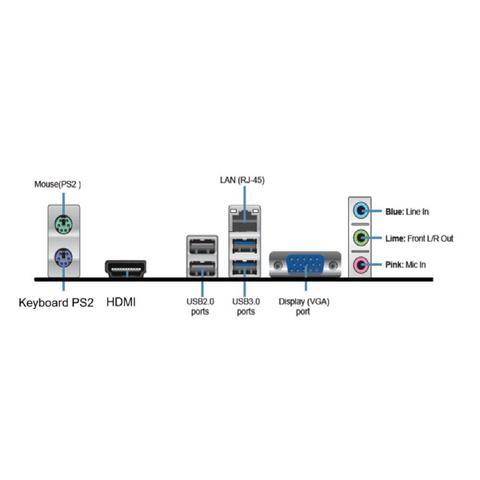 Imagem de Computador HomeOffice Intel Core i3 7ª Geração 7100 8GB 1TB  saída HDMI e Áudio 7.1 canais 3green