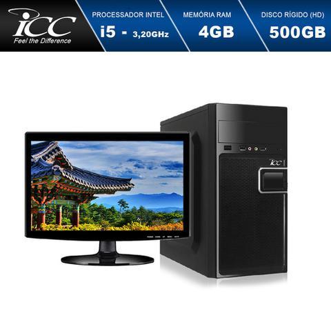 Imagem de Computador ICC IV2541SM15 Intel Core I5 3.20 ghz 4gb HD 500GB HDMI FULL HD Monitor LED 15,4