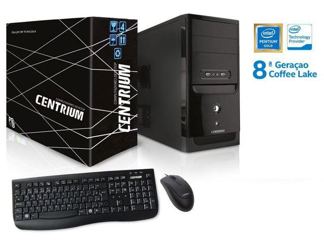 Imagem de Computador INTEL Windows Centrium Thintop 5400 INTEL Pentium G5400 3.7GHZ 4GB DDR4 500GB WINDOWS10
