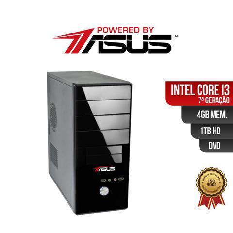 Imagem de Computador Powered by ASUS I3 7G 4Gb 1Tb DVD