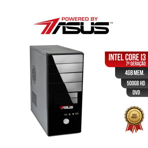 Imagem de Computador Powered by ASUS I3 7G 4gb 500Gb DVD
