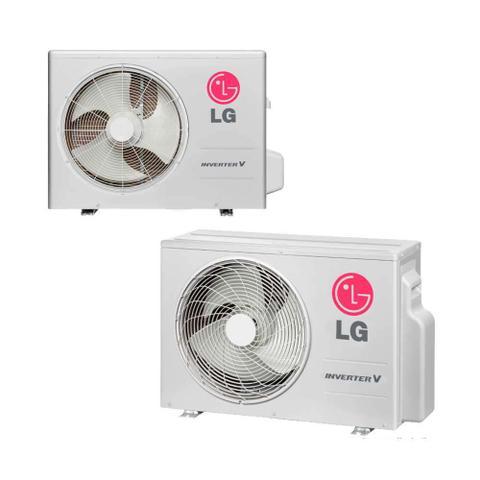 Imagem de Condensadora de ar Split 9000 BTU/h quente/frio 220V system LG