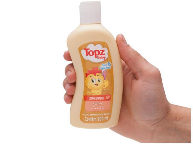 Imagem de Condicionador Infantil Topz Baby Neutro 200ml