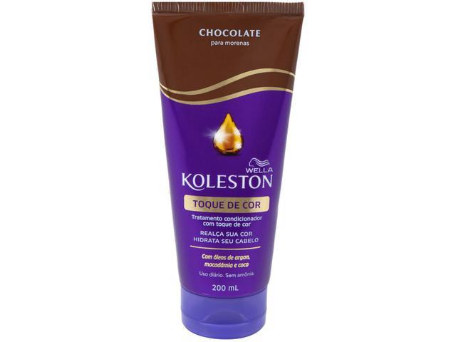 Imagem de Condicionador Koleston Toque de Cor Chocolate