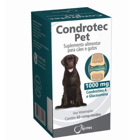 Imagem de Condrotec Pet 1000 mg - 60 comprimidos