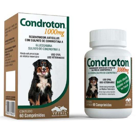 Imagem de CONDROTON 1000mg - frasco com 60 comprimidos - Vetnil
